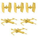 Star Wars Christmas Decorations - X-Wing & TIE Fighter