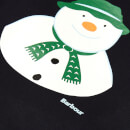 Barbour Boys' Howard Snowman Top - Navy