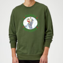 Star Wars Merry Hothmas Christmas Sweatshirt - Forest Green