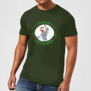 Star Wars Merry Hothmas Men's Christmas T-Shirt - Forest Green