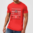 T-Shirt de Noël Homme Star Wars I Find Your Lack Of Cheer Disturbing - Rouge