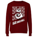 Star Wars Let The Good Times Roll Women's Christmas Sweatshirt - Burgundy