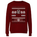 Star Wars I Find Your Lack Of Cheer Disturbing Women's Christmas Sweatshirt - Burgundy