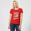 Star Wars Let The Good Times Roll Women's Christmas T-Shirt - Red