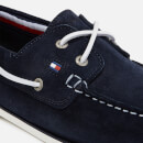 Tommy Hilfiger Men's Classic Suede Boat Shoes - Midnight