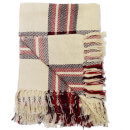 Rapport Highland Check Throw - Red