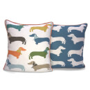 Rapport 2-Sided Multi Sausage Dog Cushion (One Cushion)