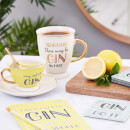 Sass & Belle May Contain Gin Cup and Saucer Set