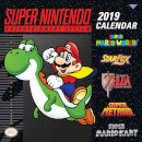 Super Nintendo Entertainment System 2019 Calendar