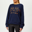 P.E Nation Women's Swingman Sweatshirt - Navy