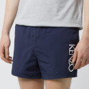 KENZO Men's Logo Swim Shorts - Midnight Blue
