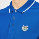 KENZO Men's Tipped Polo Shirt - French Blue