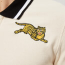 KENZO Men's Tiger Logo Polo Shirt - Ecru