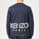 KENZO Men's Back Logo Sweatshirt - Ink