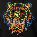 KENZO Men's Icon Neon Hoodie - Black
