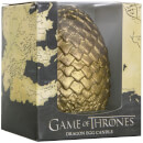 Game of Thrones Sculpted Candle Egg - Gold