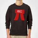 Mince Pi Christmas Sweatshirt - Black