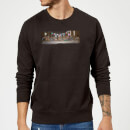 Happy Birthday, Jesus Christmas Sweatshirt - Black