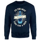 It's The Most Wonderful Time for A Beer Christmas Sweatshirt - Navy