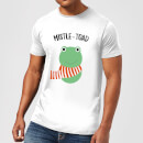 Mistle-Toad Men's Christmas T-Shirt - White