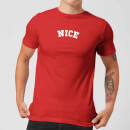 Nice Men's Christmas T-Shirt - Red