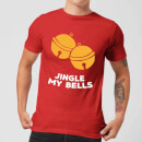 Jingle My Bells Men's Christmas T-Shirt - Red