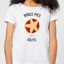Mince Pies Before Guys Women's Christmas T-Shirt - White