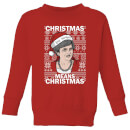 Christmas Means Christmas Kids' Christmas Sweatshirt - Red