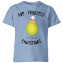 Avo-Yourself A Merry Little Christmas Kids' Christmas T-Shirt - Sky Blue