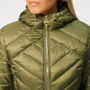 Barbour International Women's Durant Quilt Jacket - Light Army Green