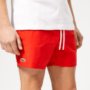 Lacoste Men's Classic Swim Shorts - Red
