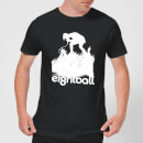 Ei8htball Singer Men's T-Shirt - Black