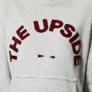 The Upside Women's Free Spirit Hoodie - Grey Marl