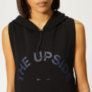 The Upside Women's Scout Sleeveless Hoodie - Black