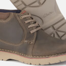 Clarks Men's Vargo Mid Leather Chukka Boots - Olive