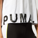 Puma Women's Chase Cotton Short Sleeve T-Shirt - Puma White