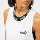 Puma Women's Amplified Tank Top - Puma White