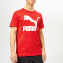 Puma Men's Classics Logo Short Sleeve T-Shirt - High Risk Red