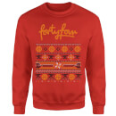 How Ridiculous Forty Four Knit Christmas Sweatshirt - Red