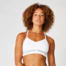 Myprotein Seamless Crop Bra Top - White - XS