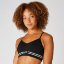 Myprotein Seamless Crop Bra Top - Black - XS