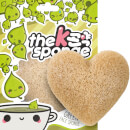 The Konjac Sponge Company K-Sponge Heart Sponge - Green Tea 12 g