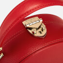Aspinal of London Women's Hat Box - Mini (Slim Strap) - Scarlet