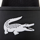 Lacoste Men's Croco Slide 119 1 Sandals - Black/White