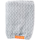 Aquis Lisse Luxe Hair Turban and Hair Towel - Chevron