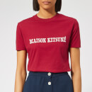 Maison Kitsuné Women's T-Shirt - Red