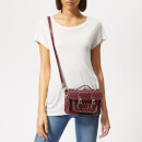 The Cambridge Satchel Company Women's Mini Satchel - Gold Dot Oxblood
