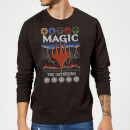 Pull de Noël Homme Magic: The Gathering Colours Of Magic - Noir