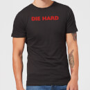 Die Hard Logo Men's Christmas T-Shirt - Black