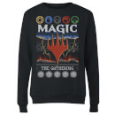 Pull de Noël Femme Magic: The Gathering Colours Of Magic - Noir